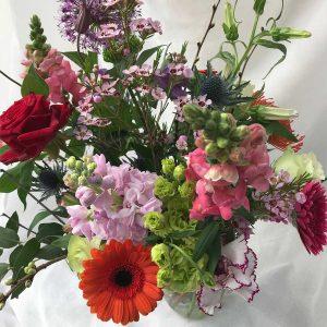 Boeket Fleur €15 Scheerhoorn Bloemen Leek