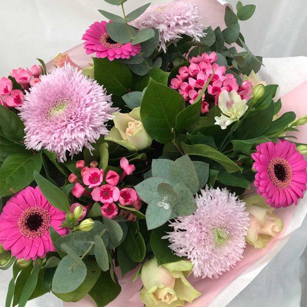 Boeket Rosé €15 Scheerhoorn Bloemen Leek